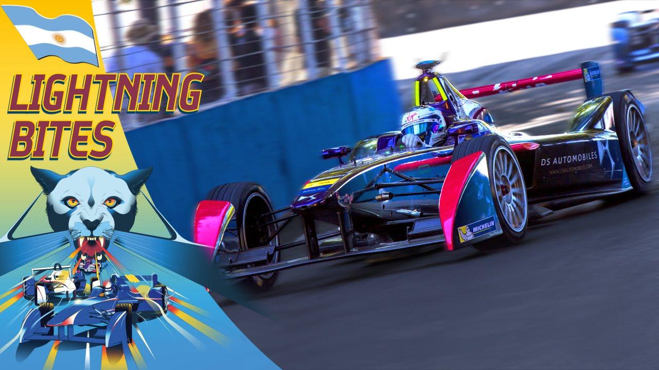 F1っぽいレース、これ全部電気自動車なんです