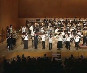 「芸術は爆発だ!!」吹奏楽団の演奏がカッコいい!