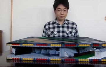 LEGO Pop up Himeji Castle  dai tenshu  レゴで飛び出る姫路城 大天守    YouTube